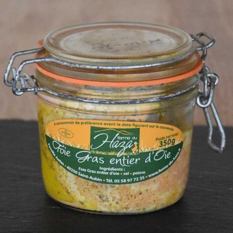 Foie gras d'oie entier - 350 g