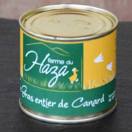 Foie gras de canard entier - Boite de 120 g