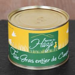 Foie gras de canard entier - Boite de 80 g