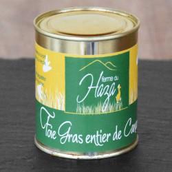 Foie gras de canard entier - Boite de 250 g