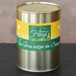Foie gras de canard entier - Boite de 500 g