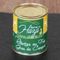 Rillettes au foie gras - 180 g