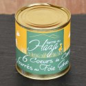 Cœurs de canard fourrés au foie gras - 350 g