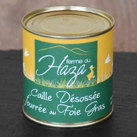 Caille fourrée au foie gras - 180 g