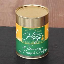 Saucisses confites - 500 g