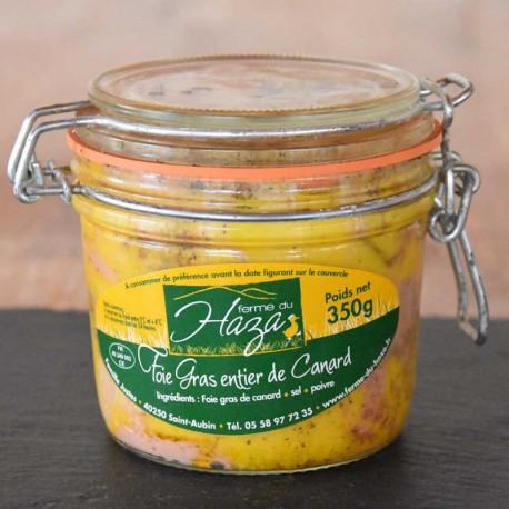 Foie gras de canard entier - Bocal de 350 g